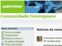[ Greenpeace Community ]