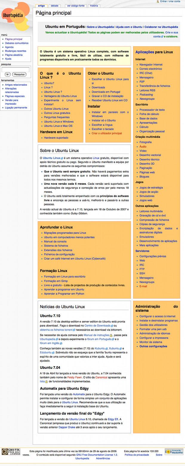 [ Ubuntupedia.info screenshot ]